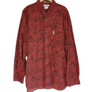 Columbia River Lodge Men's Long Sleeve Shirt XXL